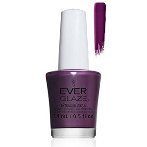 Fig-ure It Out Everglaze Extender Wear Deep Purple Nail Varnish