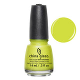 Trip of a Lime Time Mini China Glaze Lime Green Nail Varnish