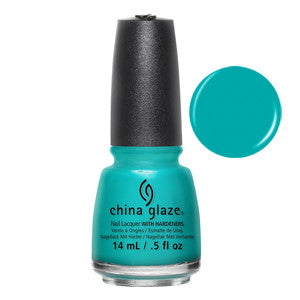 My Way or the Highway China Glaze Turquoise Nail Varnish