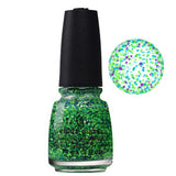 Can I Get You Untz China Glaze Green Blue Purple Glitter Nail Varnish