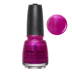 Don't Desert Me Mini China Glaze Fuchsia Pearl Shimmer Nail Varnish