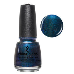 Don't Get Elfed Up Mini China Glaze Deep Emerald Shimmer Nail Varnish