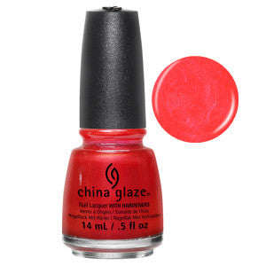 Son Of A Nutcracker China Glaze Coral Shimmer Nail Varnish