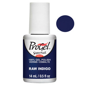 Raw Indigo Deep Navy Blue ProGel UV LED Gel Polish 14ml