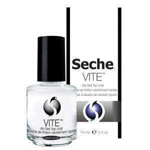Seche Vite™ Top Coat to seal and protect nail polish from chipping and fading