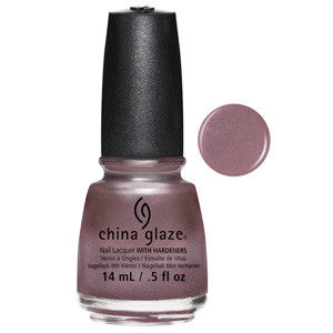 Chrome Is Where the Heart Is China Glaze Light Pink Chrome Nail Varnish