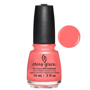 About Layin Out China Glaze Pink Salmon Nail Varnish