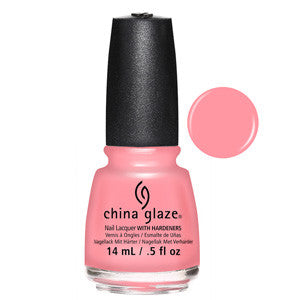 Pink Or Swim China Glaze Light Pink Nail Varnish