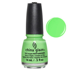 Lime After Lime China Glaze Neon Green Nail Varnish