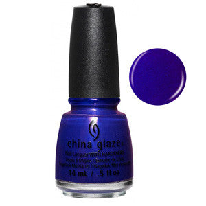 Combat Blue-TS China Glaze Royal Blue Matte Nail Varnish