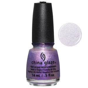 Don't Mesh With Me China Glaze Iridescent Lavender Shimmer Nail Varnish