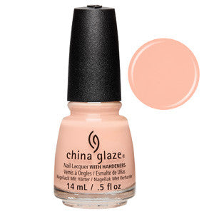 Sand in My Mistetoes China Glaze Nude Pink Nail Varnish