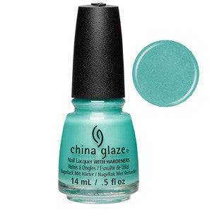 Patridge In The Palm Tree China Glaze Mint Green Nail Varnish