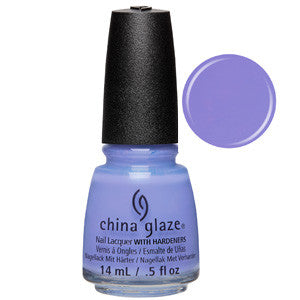 Good Tide-ings China Glaze Lilac Blue Nail Varnish