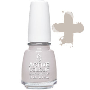 Set In Grey Stone Active Colour China Glaze Grey Nail Varnish