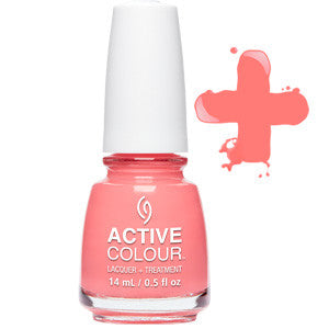 For Coral Support Active Colour China Glaze Nail Varnish