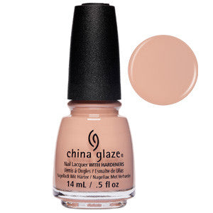 Minimalist Momma China Glaze Sandy Tan Nail Varnish