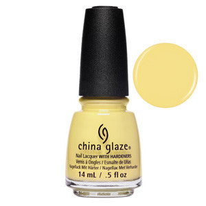 Casual Friday China Glaze Sorbet Yellow Nail Varnish