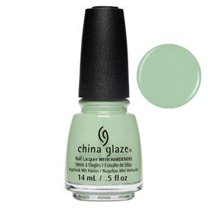 Spring Jungle China Glaze Bright Pale Pistachio Green Nail Varnish
