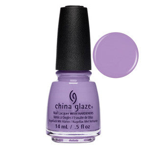 A Waltz In The Park China Glaze Pale Purple Nail Varnish