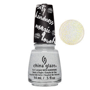 Hay Girl Hay China Glaze holographic Glitter Nail Varnish