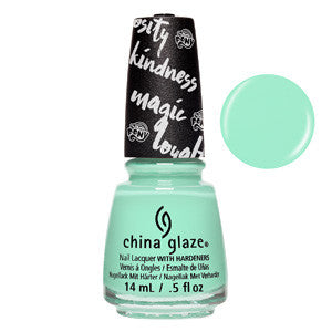 Cutie Marks The Spot China Glaze Pistachio Mint Green Nail Varnish