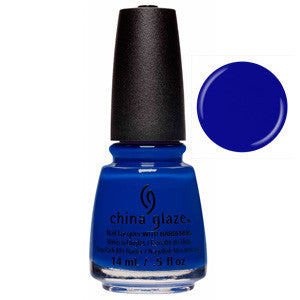 Born To Rule China Glaze Royal Blue Nail Varnish