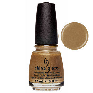 Truth Is Gold China Glaze Gold Shimmer Nail Varnish