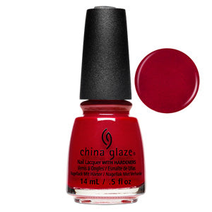 Santa's Side Chick China Glaze Nail Varnish 14ml