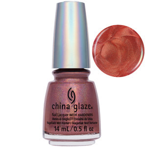 TTYL Red Holographic China Glaze Nail Varnish 14ml