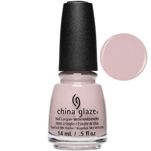 Throwing Suede China Glaze Nail Varnish 14ml in Soft Blush Pink Creme