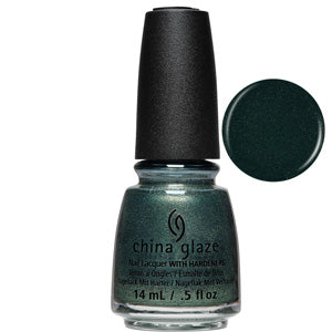 Vest Friends China Glaze Nail Varnish 14ml in green grey shimmer