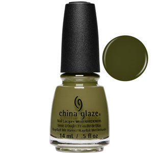 Central Parka China Glaze Nail Varnish 14ml in green creme