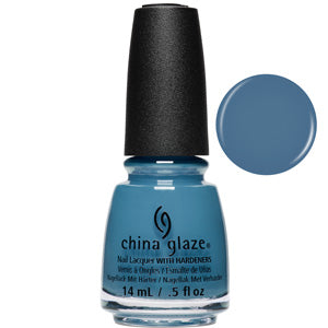 Sample Sizing Me China Glaze Nail Varnish 14ml in blue creme