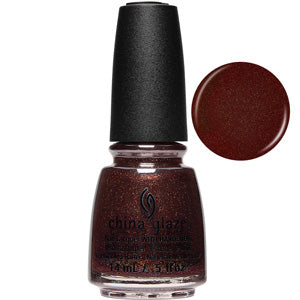 Aut-umm I Need You China Glaze Nail Varnish 14ml in brown gold shimmer