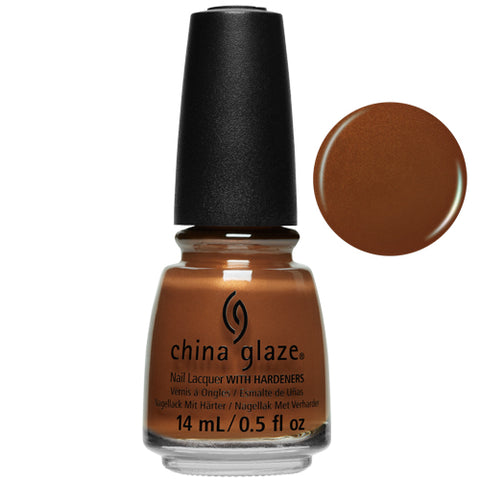Bronze Ambition China Glaze Nail Varnish 14ml Copper Shade
