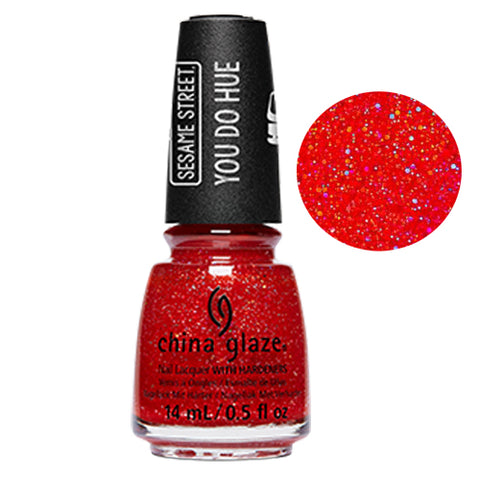 Living In The Elmo-ment China Glaze Sesame Street Collection Nail Varnish 14ml