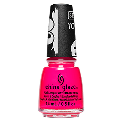 Fur Real Thing China Glaze Sesame Street Collection Nail Varnish 14ml in Neon Pink
