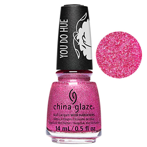 Monsterpiece China Glaze Sesame Street Collection Nail Varnish 14ml in Glitter Pink