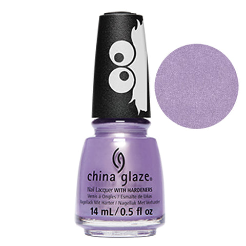 Ah Ah Ah-mazing China Glaze Sesame Street Collection Nail Varnish 14ml in Purple Shimmer
