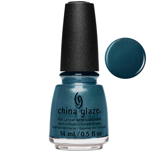 Cattle Drive Me Crazy China Glaze Nail Varnish 14ml Blue Black Créme
