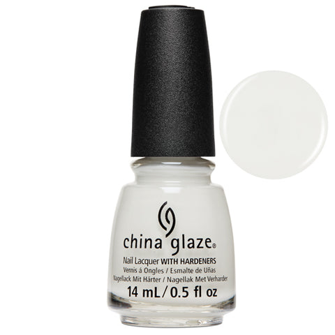 Off-White, On Point China Glaze Nail Varnish Perfect milky white shade