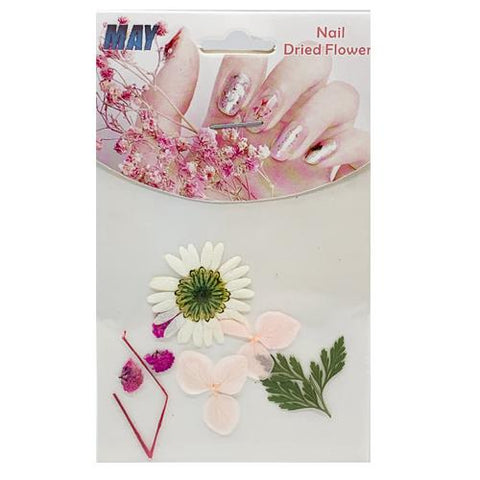 Fucshia Dry Flower for Nail Art