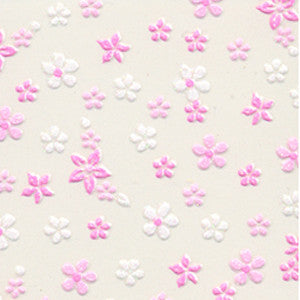 3D Nail Art Stickers Pink Daisy Flowers