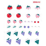 3D Nail Art Stickers Multi 012