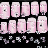 3D Nail Art Stickers psa17