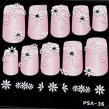 3D Nail Art Stickers psa36