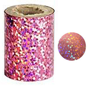 Pink Holographic Nail Foil NATF08