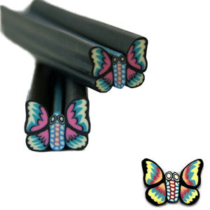 Butterfly Fimo Nail Art No.101
