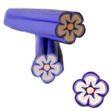 Lilac Flower Fimo No.39 Nail Art
